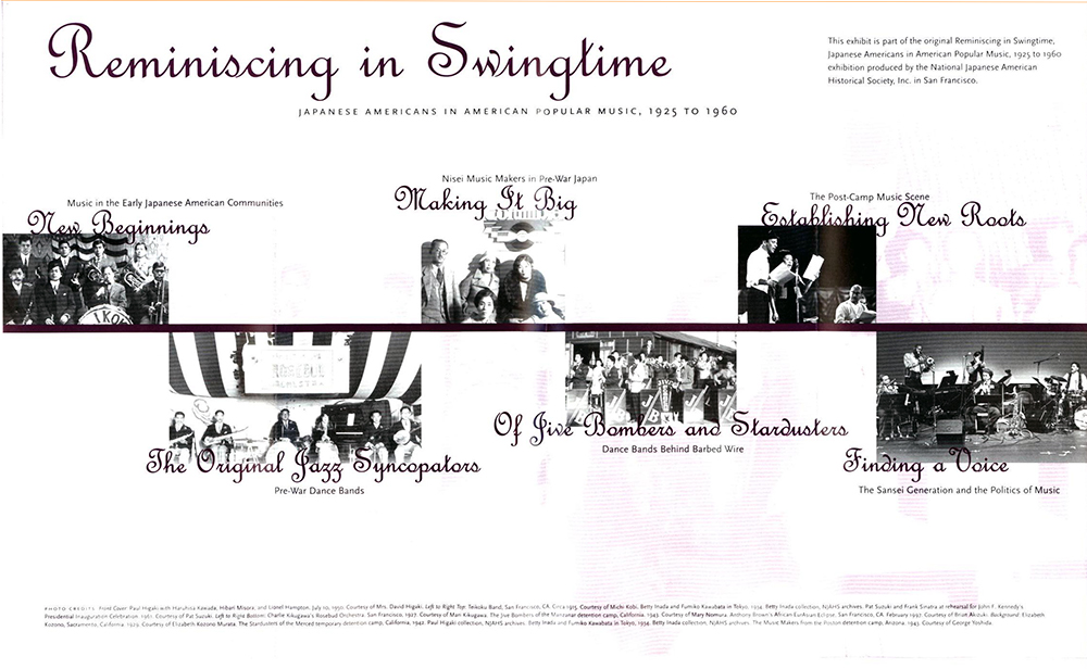 Reminiscing in Swingtime flyer